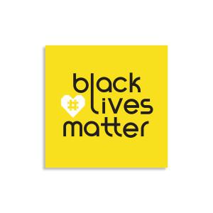 #Heart Sticker Yellow Background