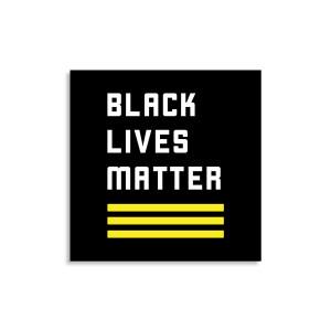 Logo Sticker Black