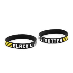 BLM Rubber Bracelet