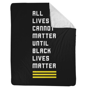 ALL Black Lives Matter Blanket