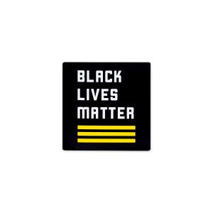 "BLM Logo Magnet 2"" x 2"""