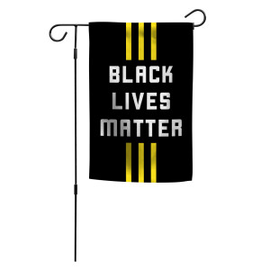 Official 3 Stripe Streak Garden Flag