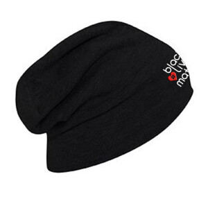 Hashtag Heart (Red) Slouch Beanie