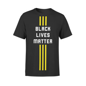 Official 3 Stripe Streak Unisex Tee (Black)
