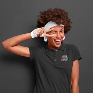 Hashtag Heart Polo Shirt (Women's)