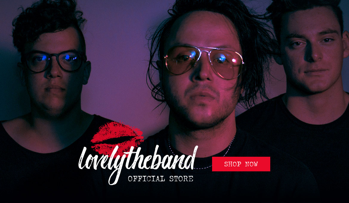 WELCOME TO THE LOVELYTHEBAND OFFICIAL STORE!