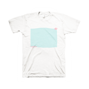 lovelytheband abstract white t-shirt