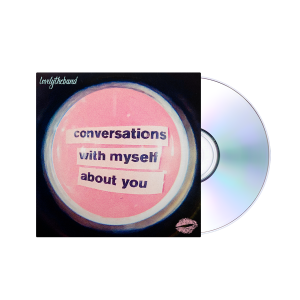 conversations with myself about you + foil lips Blue T-Shirt
