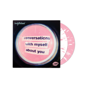 conversations with myself about you White/Pink Slatter 2 LP