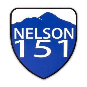 Nelson 151 Sticker