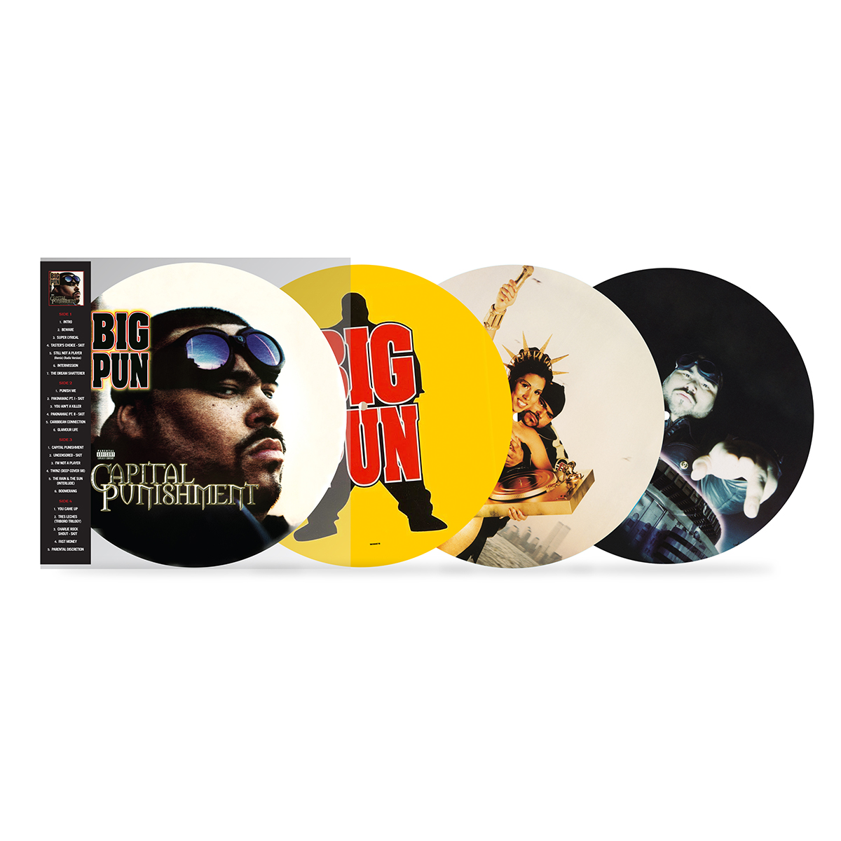 Big Pun: Capital Punishment (20th Anniversary Picture Disc) 2-Disc LP