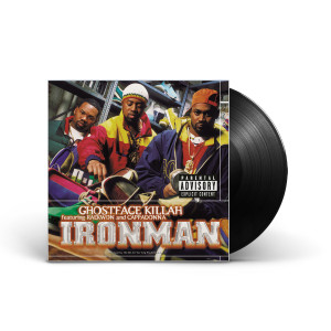 Ghostface Killah: Ironman Clear Vinyl 2-LP