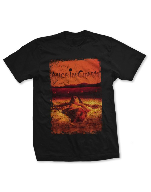 Alice In Chains Men's Dirt Album Cover T-Shirt