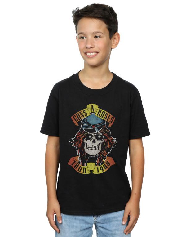 4fd54832d Guns N Roses Boys Tour 88 T-Shirt | Shop the Absolute Cult Official ...