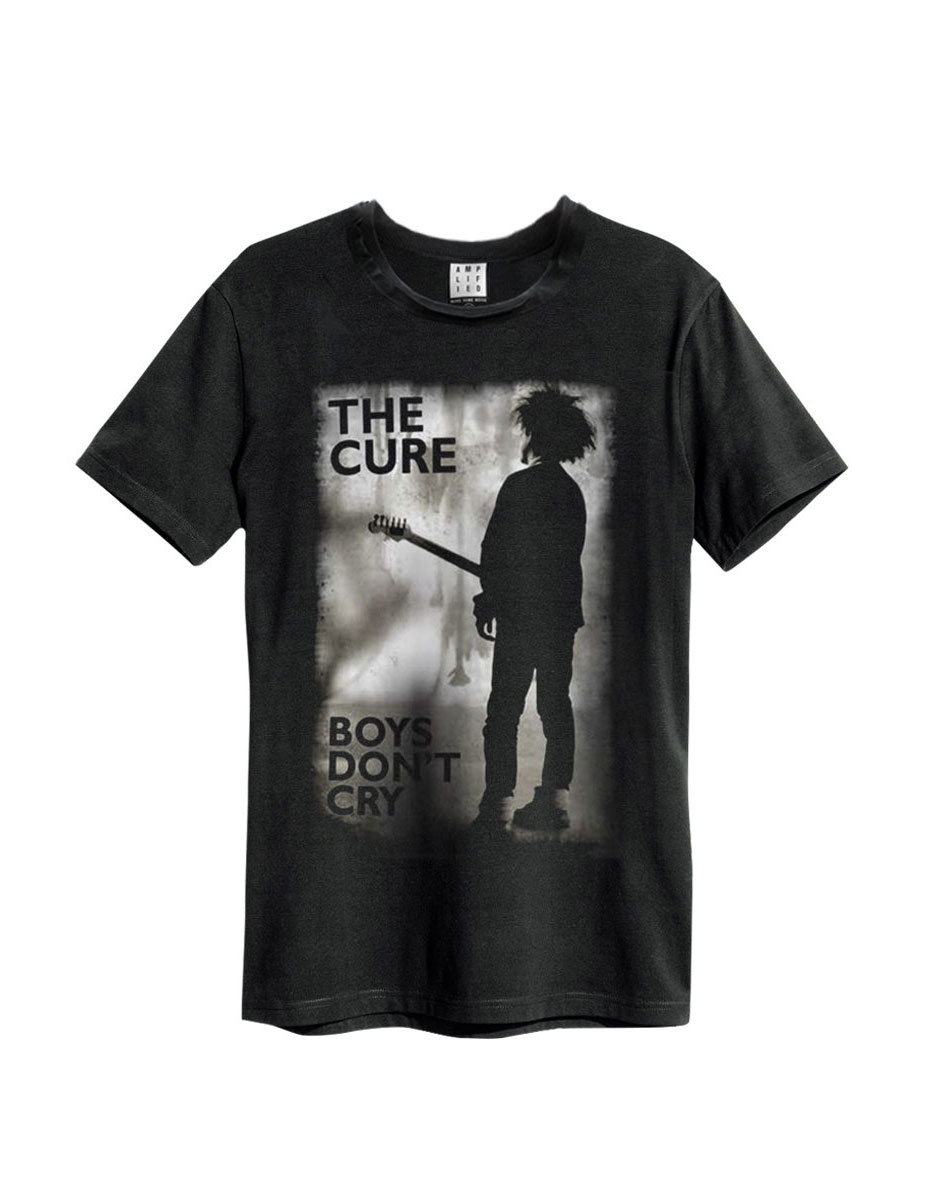 Official Amplified The Cure Boys don't cry Men's Vintage T-Shirt