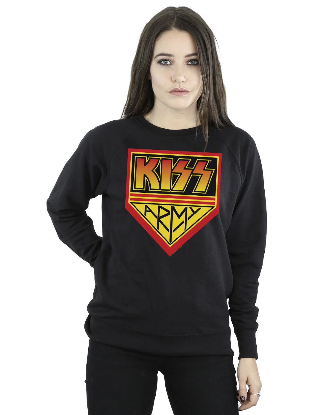 KISS Women's Army Sweatshirt