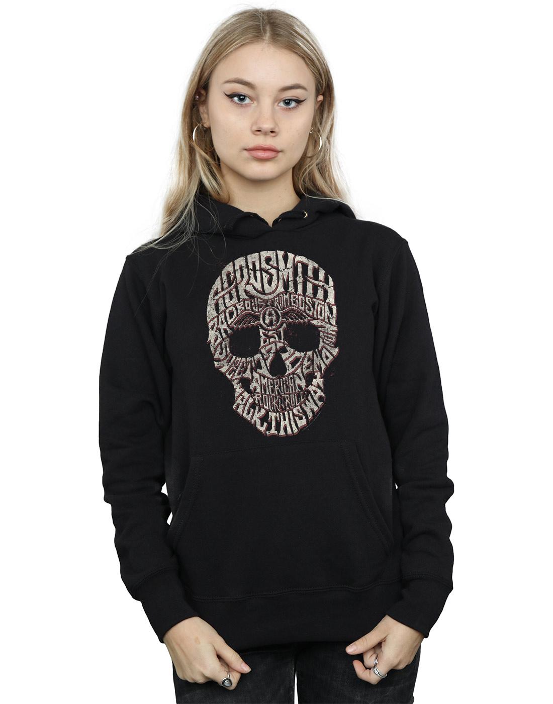 Aerosmith Women's Skull Hoodie