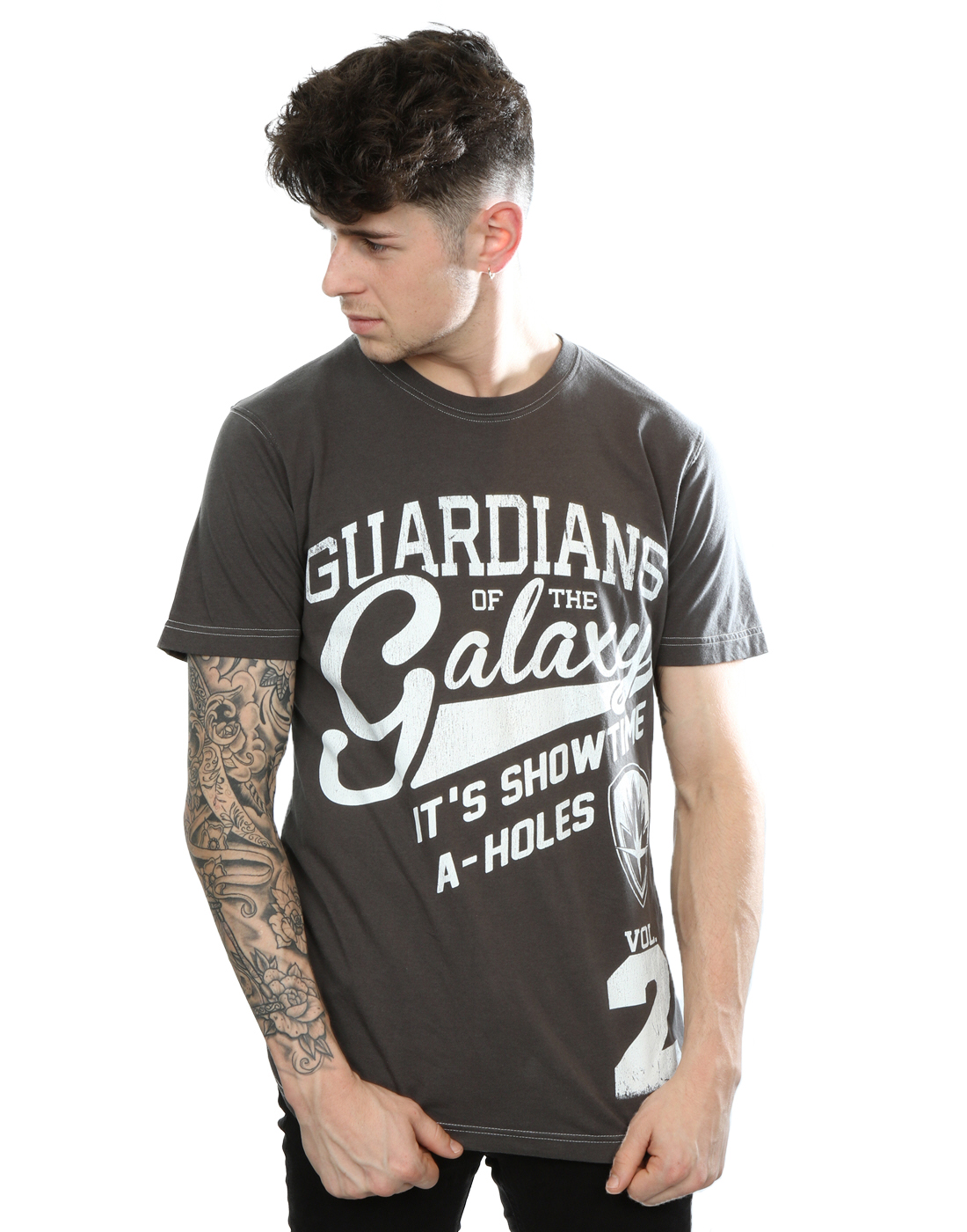 Aftershow Men's Guardians of the Galaxy A-Holes T-Shirt