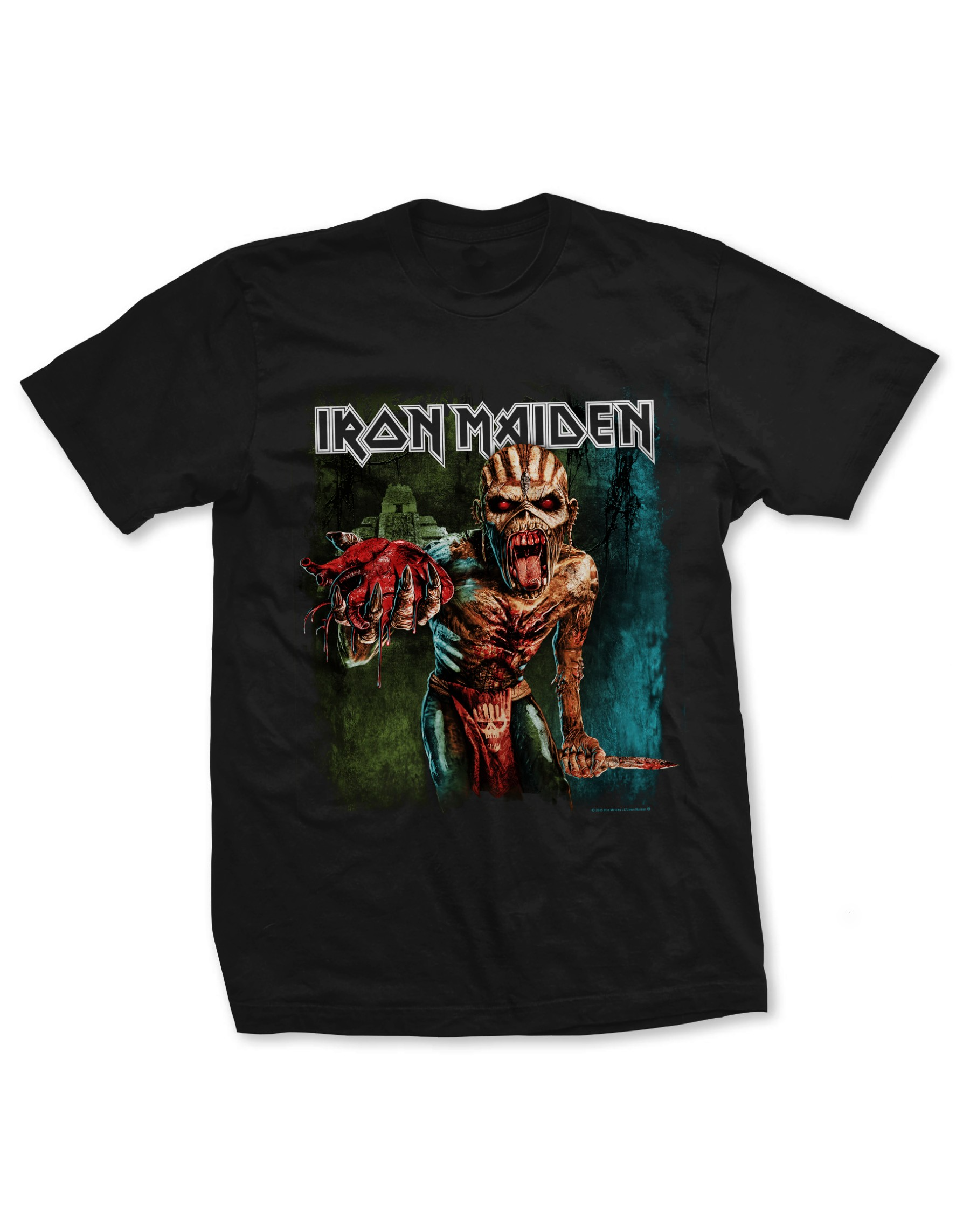 Iron Maiden Men's The Book Of Souls T-Shirt
