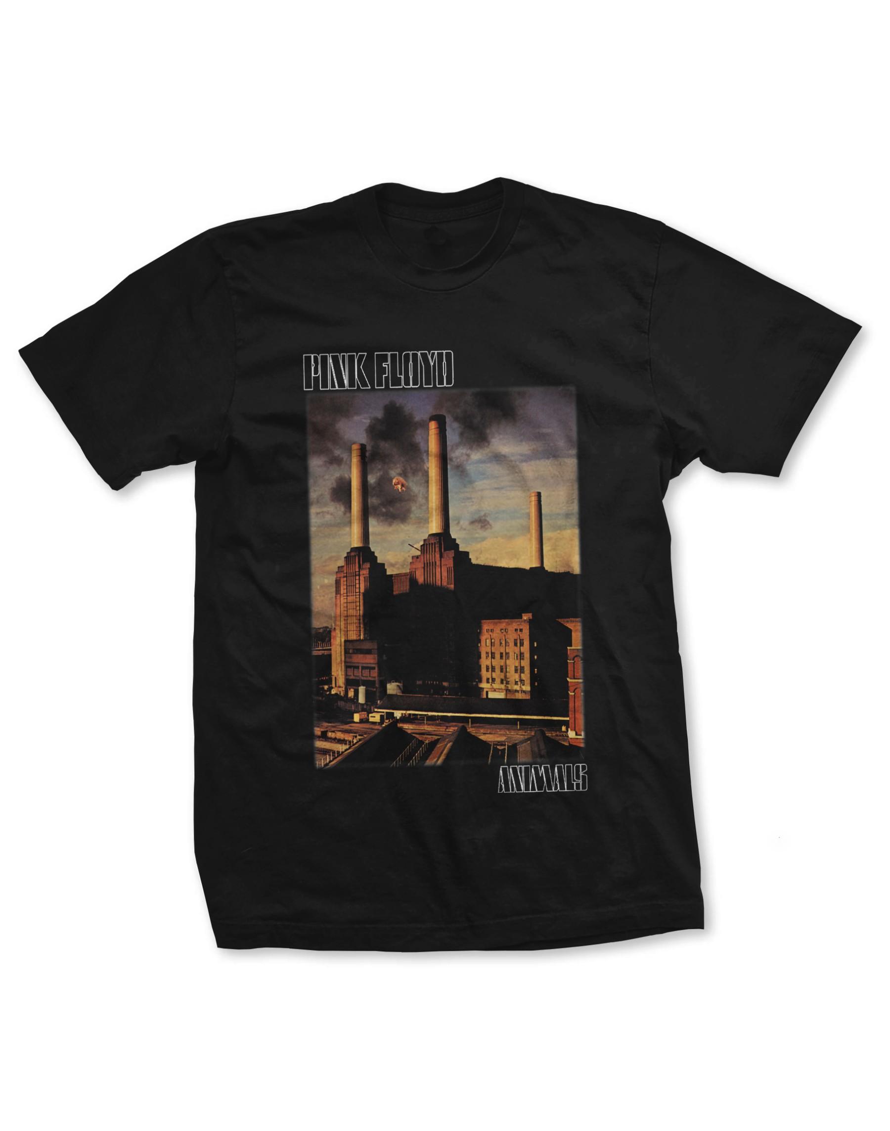 Pink Floyd Men's Animals Poster T-Shirt