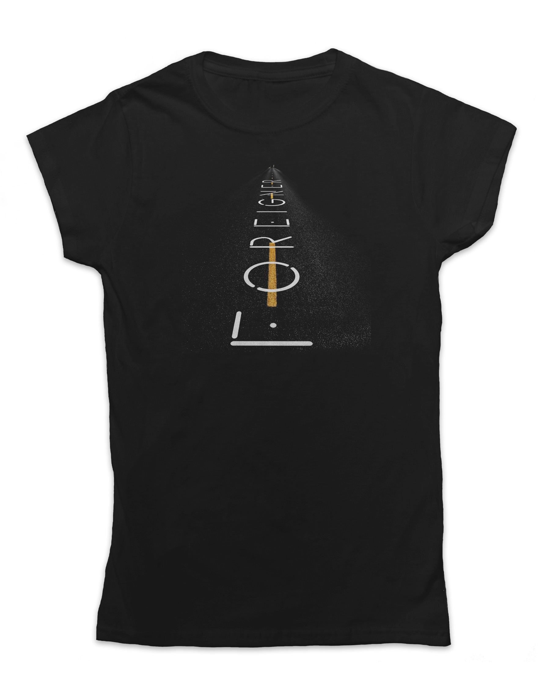 Foreigner Women's Road Logo T-Shirt