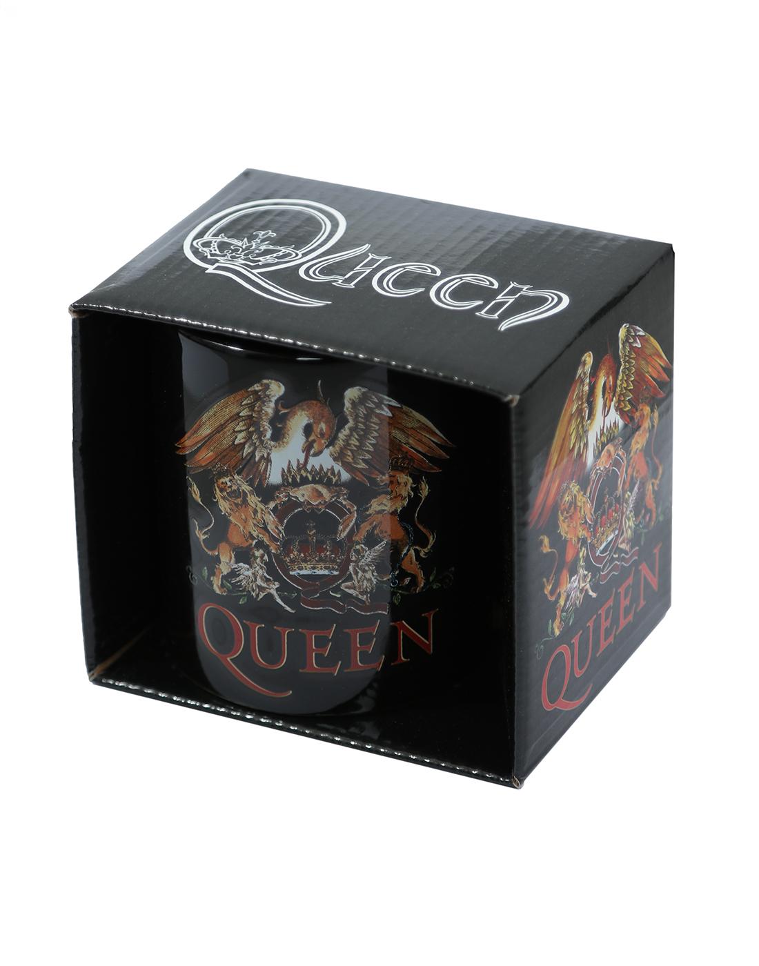 Queen Boxed Standard Mug: Classic Crest