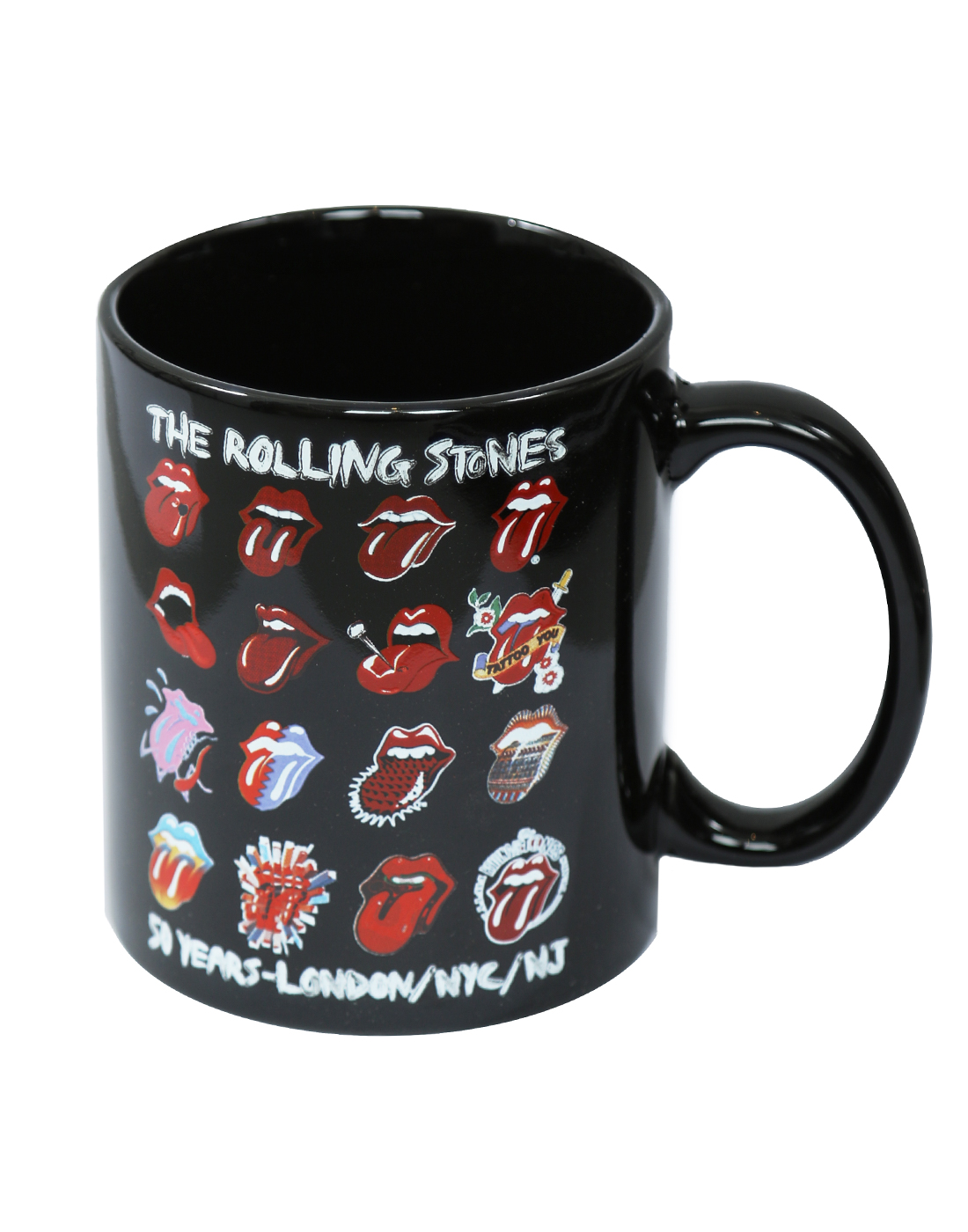 The Rolling Stones Boxed Standard Mug: Tongue Evolution