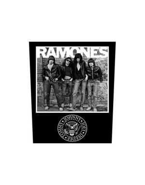 Ramones Back Patch: 1976