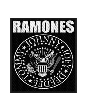 Ramones Standard Patch: Classic Seal (Packed)