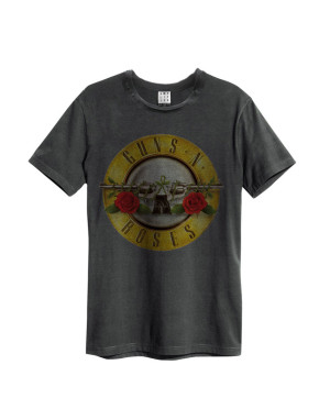 Official Amplified Guns N Roses Drum Men's Vintage T-Shirt
