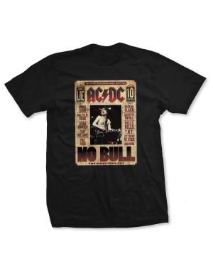 AC/DC Men's No Bull Live T-Shirt