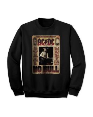 AC/DC Men's No Bull Live Sweatshirt