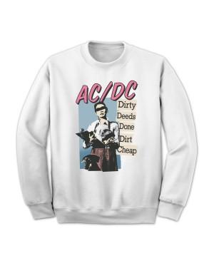 AC/DC Women's Dirty Deeds Done Cheap Sweatshirt