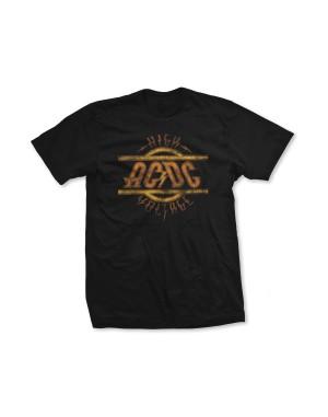 AC/DC Boys High Voltage Distressed Logo T-Shirt