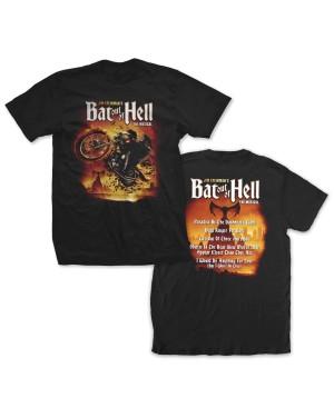 Bat Out Of Hell Men's Musical Song Titles T-Shirt