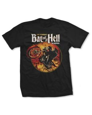 Bat Out Of Hell Women's Musical Biker Circle Boyfriend Fit T-Shirt