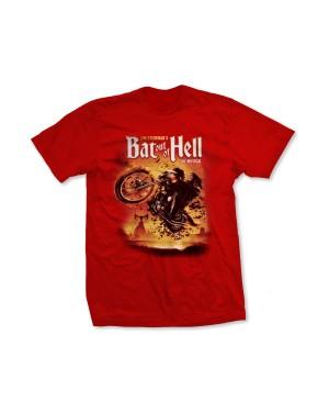 Bat Out Of Hell Boys Musical Biker Art T-Shirt