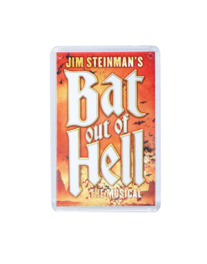 Bat Out Of Hell BOOH Fridge Magnet