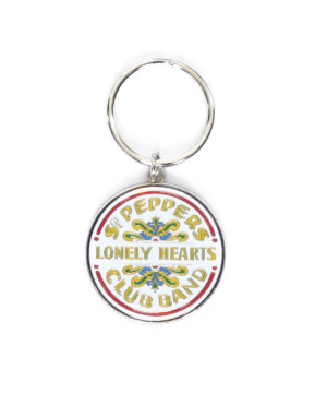 The Beatles Standard Keyring: Sgt Pepper