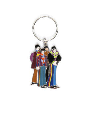 The Beatles Standard Keyring: Yellow Submarine Band