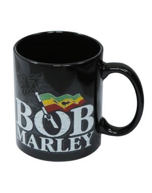 Bob Marley Boxed Standard Mug: Distressed Logo