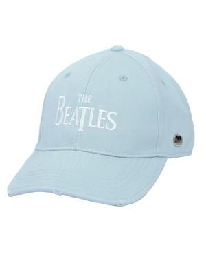 The Beatles Baseball Cap: Drop T Logo