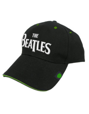 The Beatles Baseball Cap: Drop T With Badge