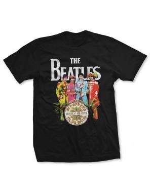 The Beatles Men's Sgt Pepper T-Shirt
