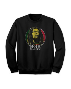 Bob Marley Men's Logo Badge Sweatshirt