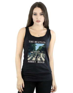 The Beatles Women's Abbey Road Vest
