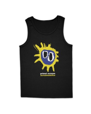 Primal Scream Men's Screamadelica Logo Vest