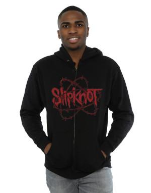 Slipknot Men's Barbed Wire Zip Up Hoodie