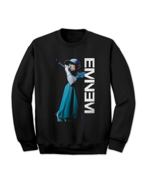 Eminem Men's Mic Pose Sweatshirt