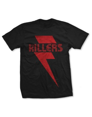 The Killers Men's Red Bolt T-Shirt